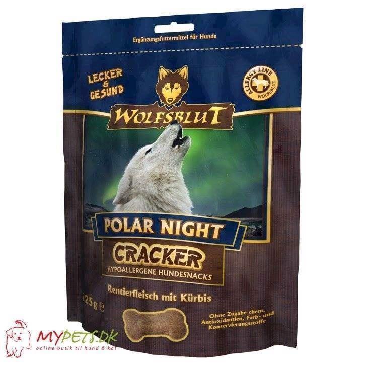 N/A – Wolfsblut cracker - polar night - kornfri hundekiks fra mypets.dk