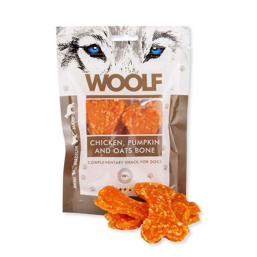 N/A Woolf chicken, pumpkin and oats bone fra mypets.dk