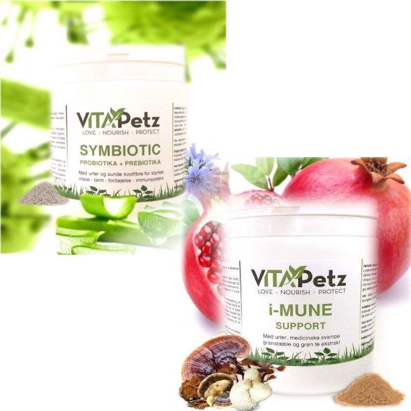 VitaPetz Immun Booster Pakke small, I-Mune + Symbiotic