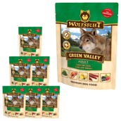 WolfsBlut Green Valley, Vådfoder , 7 x 300g