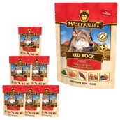 WolfsBlut Red Rock, Vådfoder , 7 x 300g