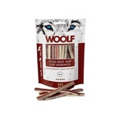 WOOLF Long Beef and Cod Sandwish, 100g
