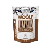 Woolf Long Rabbit and Cod Sandwich, 100g