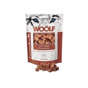 WOOLF Soft Beef Chunkies, 100g
